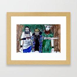 The Wyatt Family  Framed Art Print