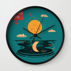 :::A Half-Finished Dream::: Wall Clock