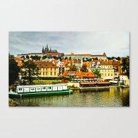prague Canvas Prints featuring Prague. by Michaëlis Moshe