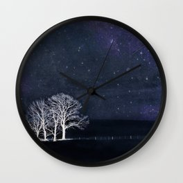 Fabric of Space Wall Clock