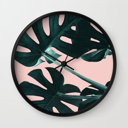 Tropical Elegance Wall Clock