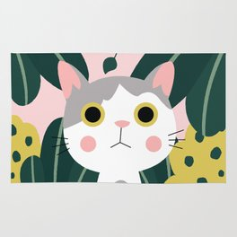 Jungle Cat Rug