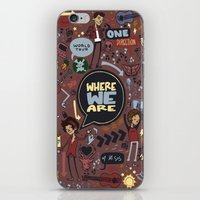 cargline iPhone & iPod Skins featuring WWA Poster by cargline