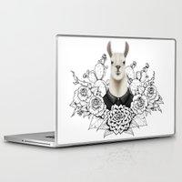 lama Laptop & iPad Skins featuring Lama by Melanie Blanchard