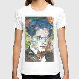 FEDERICO GARCIA LORCA watercolor portrait.4 T-shirt