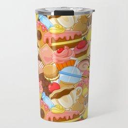 Wall of Cakes Travel Mug