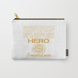 THE FIREFIGHTER'S WIFE Carry-All Pouch