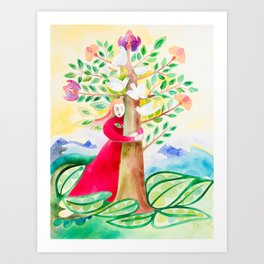 Thank you Mother Earth Art Print