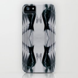 Black dress (Oh, those curves, baby!) iPhone Case