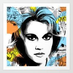 Queen of the Galaxy Art Print