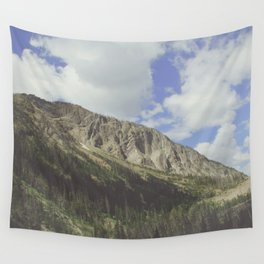 Yellowstone Mountains Wall Tapestry