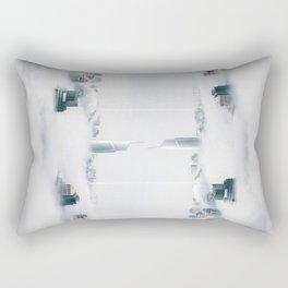 City surreal reflection Rectangular Pillow