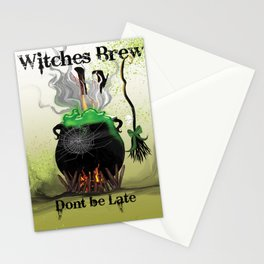 Witches Brew Ha Ha Stationery Cards