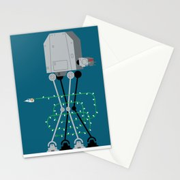 season's greetings from hoth Stationery Cards
