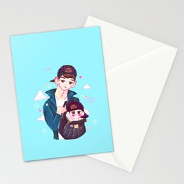 Minho & Baby Minho Stationery Cards