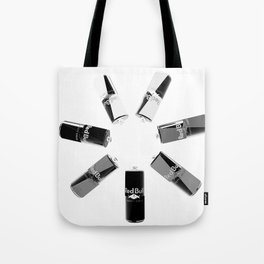 Gives you Wings Black And White Tote Bag