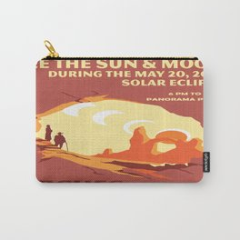 Vintage poster - Arches National Park Carry-All Pouch