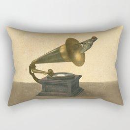 Vintage Songbird Rectangular Pillow