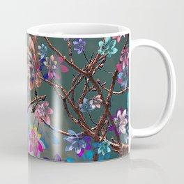 Floral abstract 76 Coffee Mug