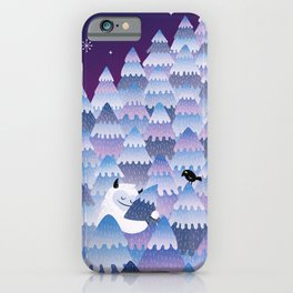 Tree Hugger (Night Version) iPhone Case