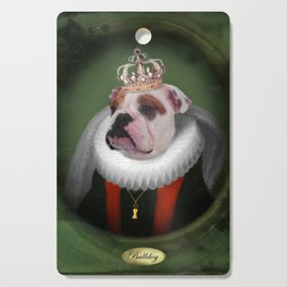 English Bulldog Art - Lucy Cutting Board