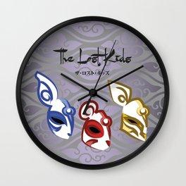 The Lost Kids Wall Clock
