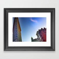 Flat Iron 2 Framed Art Print