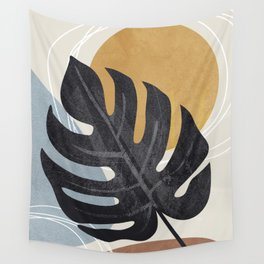 Abstract Tropical Art I Wall Tapestry