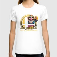 smash bros T-shirts featuring Wario - Super Smash Bros. by Donkey Inferno