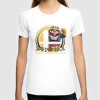 super smash bros T-shirts featuring Wario - Super Smash Bros. by Donkey Inferno