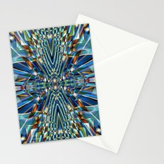 Abstract X Six Stationery Cards