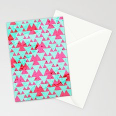 Watercolor Triangle Party Stationery Cards