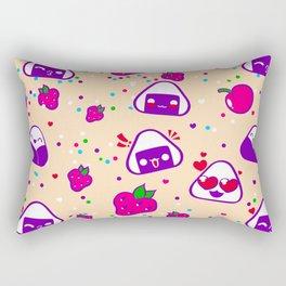 Kawaii Bento Party Rectangular Pillow