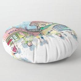 Mardi Gras N'Awlins Floor Pillow
