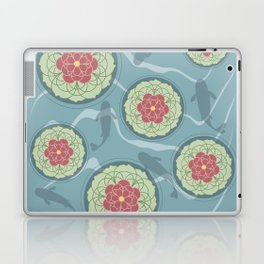 Koi Lotus Pond Laptop & iPad Skin