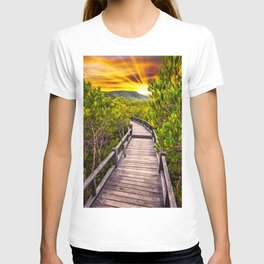 Mangrove Forest Sunset T-shirt