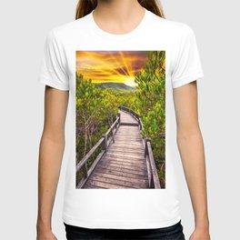 Mangrove Forest Sunset T-shirt