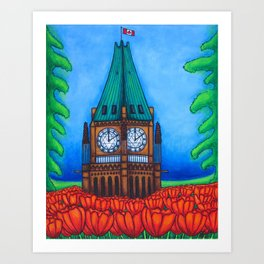 O'Canada Art Print