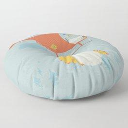Baby on board Floor Pillow