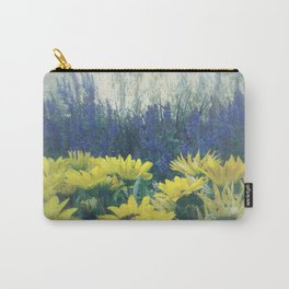 Small Summer Garden Carry-All Pouch