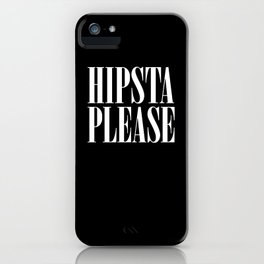 HIPSTA iPhone Case