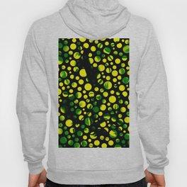 Dotty green Hoody