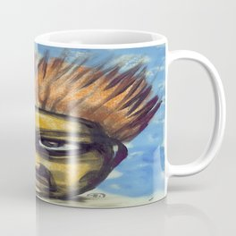 Surf's Up ~ Indonesia Art by Ali Coffee Mug