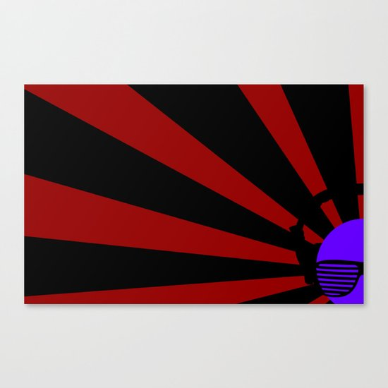 Rising DJ Canvas Print