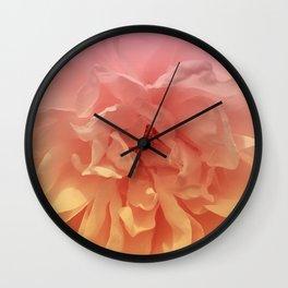Blended Rose Macro Wall Clock