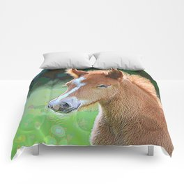 AnimalPaint_Horse_20171201_by_JAMColorsSpecial Comforters