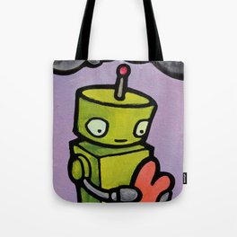 Robot - It's Just The Right Shape Tote Bag