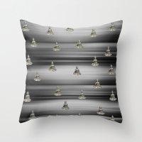 buddha Throw Pillows featuring Buddha by Fine Art by Rina