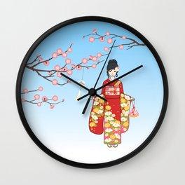 Kimono Basics Wall Clock