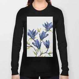 Blue Flowers 3 Long Sleeve T-shirt